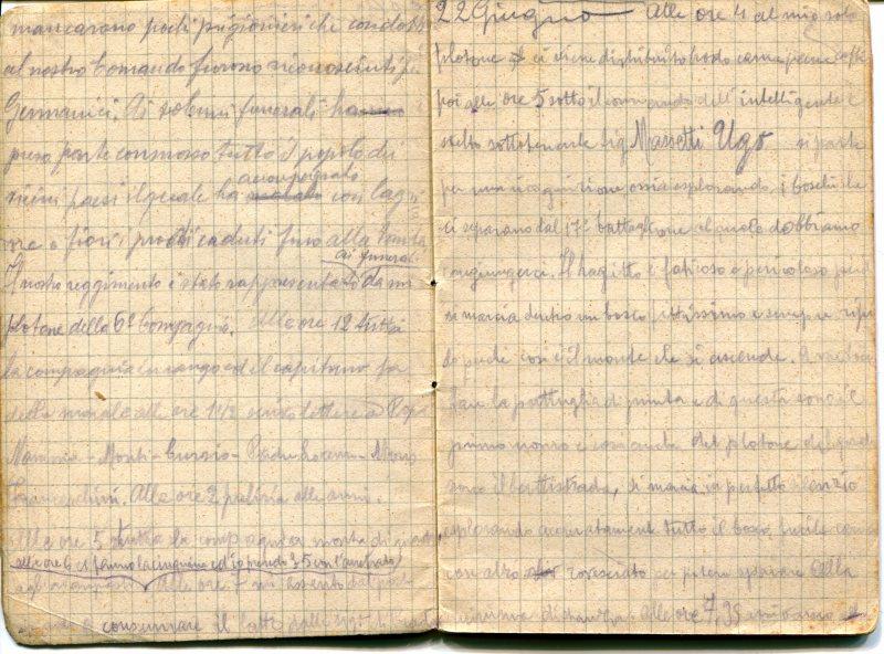 diari 22 giugno 1915