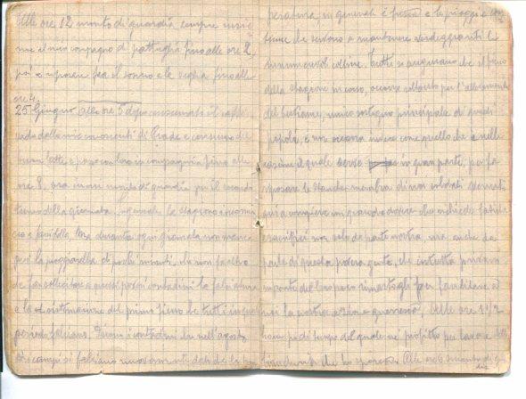 Diario 25 giugno 1915