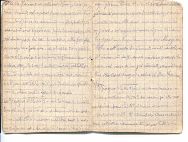 Diario 26 giugno 1915