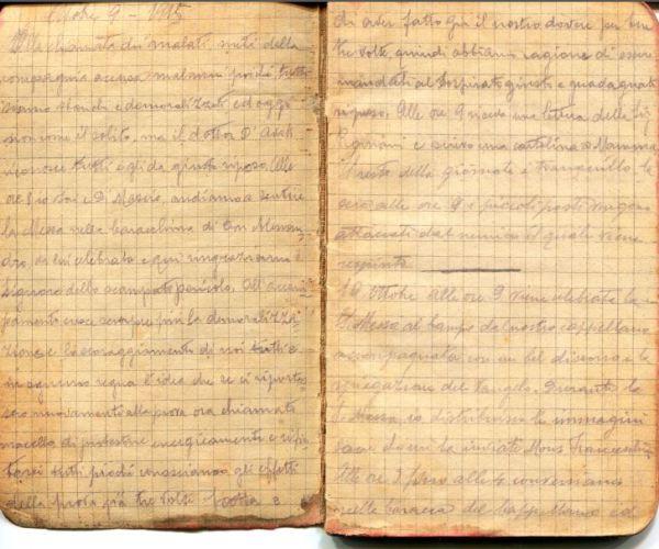 diari 10 ottobre 1915