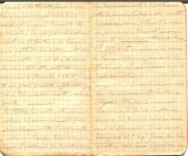 diari 16 ottobre 1915