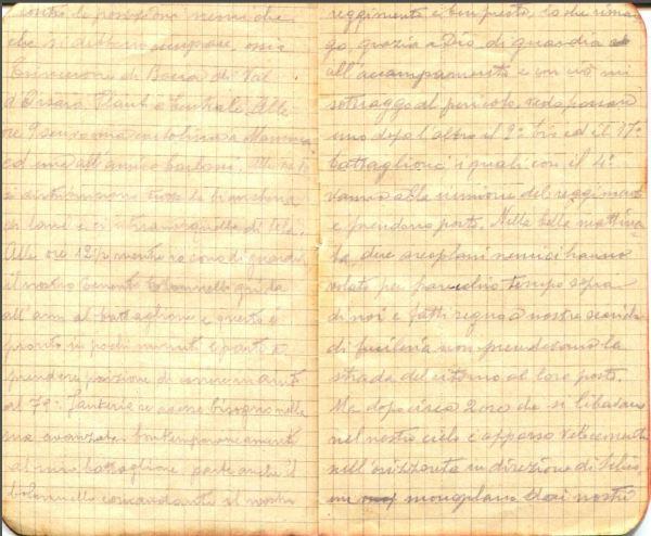diari 19 ottobre 1915