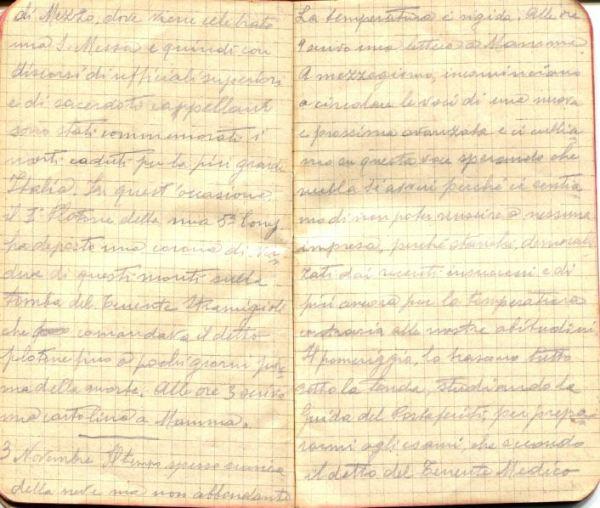 diari 03 novembre 1915
