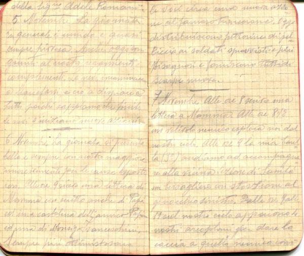 diari 05 novembre 1915