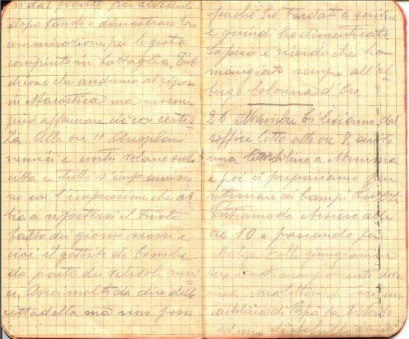 diari 26 novembre 1915