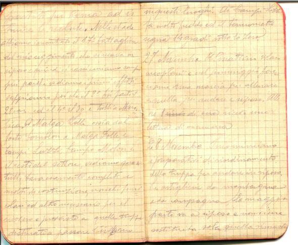 diari 27 novembre 1915